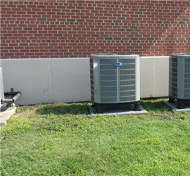 Upgrade HVAC at Mini-Mall, Langley AFB, Hampton, VA