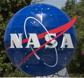 Install New Meatball Sign at NASA Main Gate